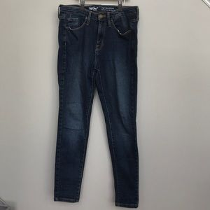 High rise skinny (short) jeans